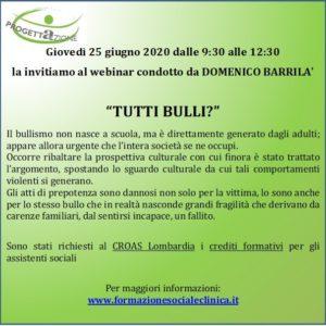 Tutti bulli? –Domenico Barrilà