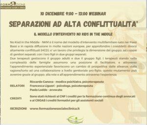 webinar formativo a Milano